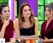 Canlı yayında şarkıcı Hatice'nin ilginç gösterisi