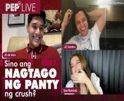 Nag-share sina Sue Ramirez, JC de Vera, at JC Santos ng kanilang mga pamahiin sa love life sa kanilang PEP Live interview. <br/><br/>Nag-guest sa PEP Live ang tatlo para sa i-promote ang kanilang WeTV series na Boyfriend No. 13. <br/><br/>Para sa full PEP Live interview nina Sue, JC, at JC, i-click ang link na ito: https://bit.ly/SueJCandJCPEPlive<br/><br/>#SueRamirez #JCdeVera #JCSantos<br/><br/>Host: Jimpy Anarcon<br/>Video Producer: Rommel Llanes<br/>Video Editor: Lucelle Chavez<br/><br/>Know the latest in showbiz on http://www.pep.ph!<br/><br/>Subscribe to our YouTube channel! https://www.youtube.com/PEPMediabox<br/><br/>Follow us! <br/>Instagram: https://www.instagram.com/pepalerts/ <br/>Facebook: https://www.facebook.com/PEPalerts <br/>Twitter: https://twitter.com/pepalerts<br/><br/>Visit our DailyMotion channel! https://www.dailymotion.com/PEPalerts<br/><br/>Join us on Viber: https://bit.ly/PEPonViber<br/><br/>Watch us on Kumu: pep.ph