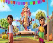 Ganpati Bappa Aa Rahe Hai - Ganesh Chaturthi - Nimboo Kids Songs - Ganapati Bappa Morya - Vinayaka