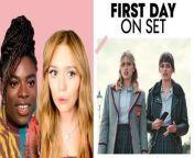 Aimee Lou Wood and Chinenye Ezeudu of Netflix's 'Sex Education' tell us their \