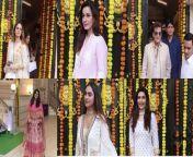 #SussanneKhan, #NeelamKothari, #Jeetendra, #KarishmaTanna, #KrystkeD'souza, #AnitaHassanandani with her husband #RohitReddy, #MushtaqSheikh, #SanayaIrani, & Other Celebs Attend Ekta Kapoor's Ganpati Celebrations. <br/>#GaneshChahturthi2021