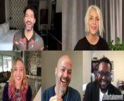 Tom Ellis, Lauren German, Joe Henderson, and Ildy Modrovich sit down to discuss the final season of their Netflix show 'Lucifer'.