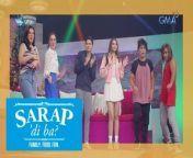 Excited na ba kayo sa muling pagbabalik-studio ng Legaspi family? Halina't silipin ang behind-the-scenes sa video na ito!<br/><br/>Watch episodes of 'Sarap, 'Di Ba?' Saturday mornings on GMA Network before 'Eat Bulaga!' hosted by Carmina Villarroel, Cassy Legaspi, and Mavy Legaspi. #SarapDiBa #SarapDiBaGMA